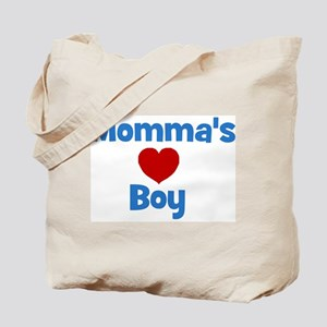 Momma's Boy - Red Heart Tote Bag