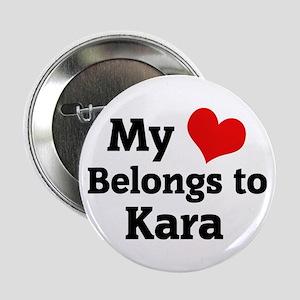 My Heart: Kara Button