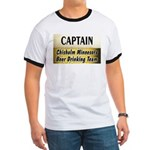 Chisholm Beer Drinking Team Ringer T