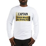 Chisholm Beer Drinking Team Long Sleeve T-Shirt