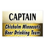 Chisholm Beer Drinking Team Postcards (Package of