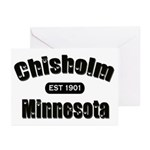 Chisholm Established 1901 Greeting Cards (Pk of 10
