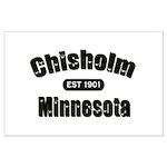 Chisholm Established 1901 Large Poster