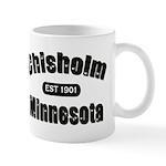 Chisholm Established 1901 Mug