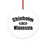 Chisholm Established 1901 Ornament (Round)