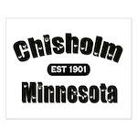 Chisholm Established 1901 Small Poster