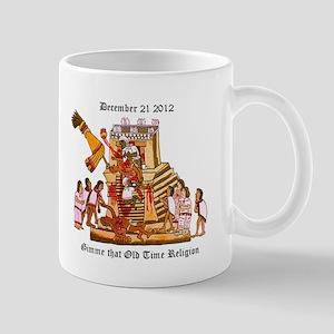 Aztec Human Sacrifice Mug