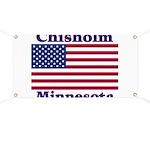 Chisholm US Flag Banner