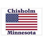 Chisholm US Flag Large Poster