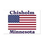 Chisholm US Flag Mini Poster Print