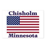 Chisholm US Flag Postcards (Package of 8)