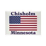 Chisholm US Flag Rectangle Magnet (100 pack)