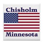 Chisholm US Flag Tile Coaster