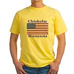 Chisholm US Flag Yellow T-Shirt