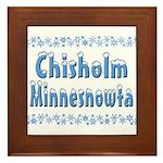 Chisholm Minnesnowta Framed Tile