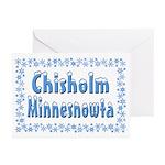 Chisholm Minnesnowta Greeting Cards (Pk of 20)