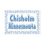 Chisholm Minnesnowta Mini Poster Print