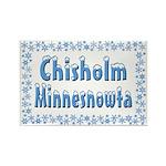 Chisholm Minnesnowta Rectangle Magnet (10 pack)