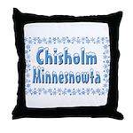 Chisholm Minnesnowta Throw Pillow
