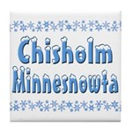 Chisholm Minnesnowta Tile Coaster