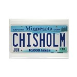Chisholm License Plate Rectangle Magnet (100 pack)