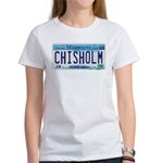 Chisholm License Plate Women's T-Shirt