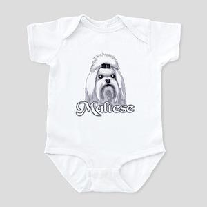 Maltese - Monochrome Infant Bodysuit