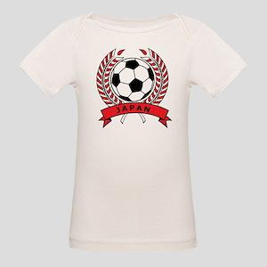Soccer Japan Organic Baby T-Shirt