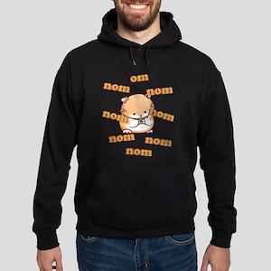 Om Nom Hamster Hoodie (dark)