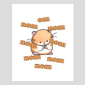 Om Nom Hamster Small Poster
