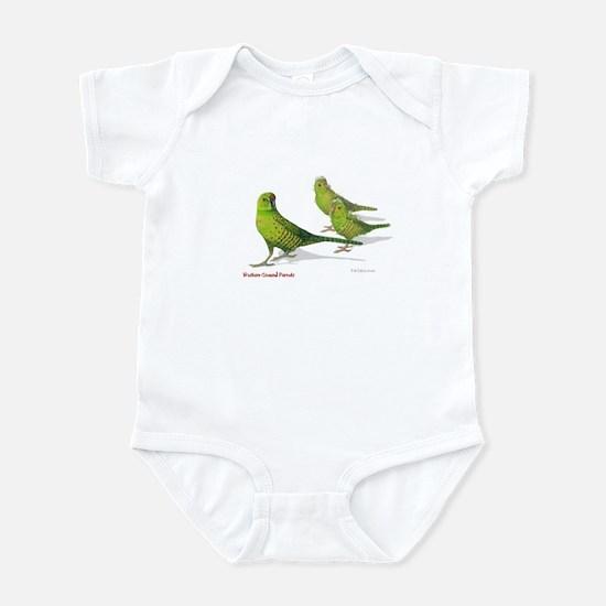Western Ground Parrot Infant Bodysuit