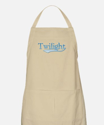 Twilight Vampire Movie Blue BBQ Apron