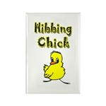 Hibbing Chick Rectangle Magnet (100 pack)