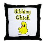 Hibbing Chick Throw Pillow