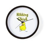 Hibbing Chick Wall Clock