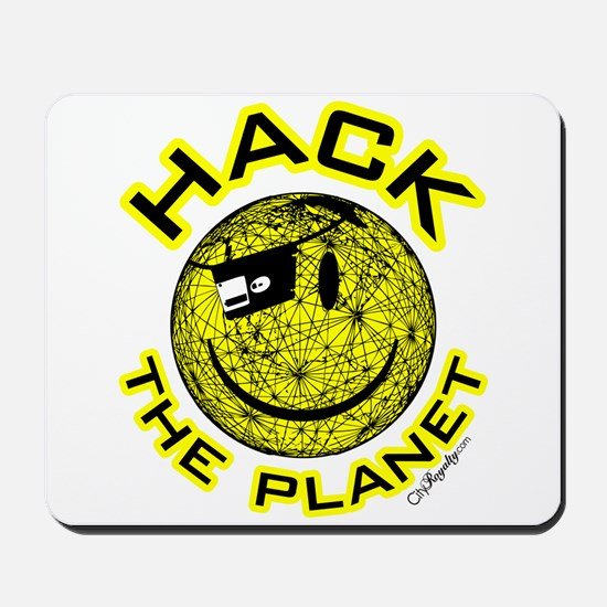 Hack the Planet Mousepad