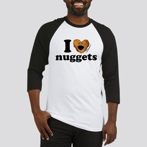 I Love Nuggets Baseball Jersey