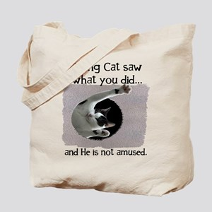 Ceiling Cat Tote Bag
