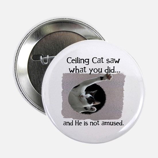 "Ceiling Cat 2.25"" Button"