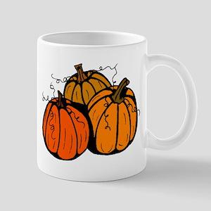Three Pumpkins Mug