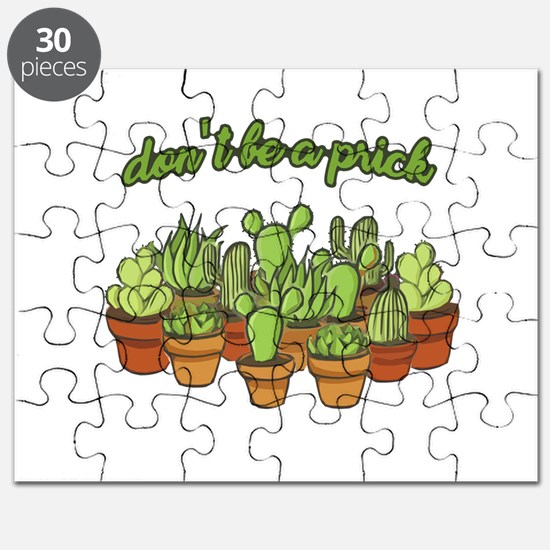 Cactus - Don't be a prick Puzzle