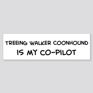 Treeing Walker Coon Bumper Sticker