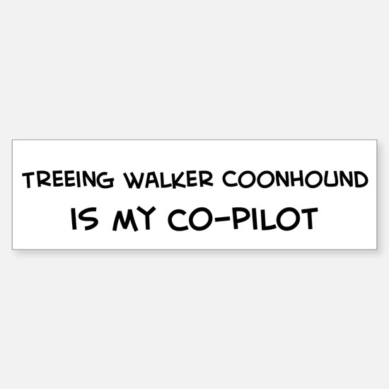 Treeing Walker Coon Bumper Bumper Bumper Sticker
