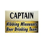 Hibbing Beer Drinking Team Rectangle Magnet (10 pa