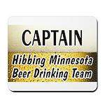 Hibbing Beer Drinking Team Mousepad
