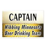 Hibbing Beer Drinking Team Postcards (Package of 8