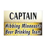 Hibbing Beer Drinking Team Mini Poster Print