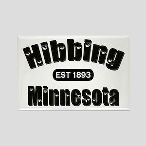 Hibbing Established 1893 Rectangle Magnet
