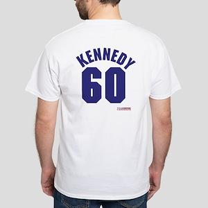 John F Kennedy White T-Shirt