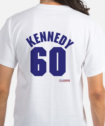 John F Kennedy White T-Shirt